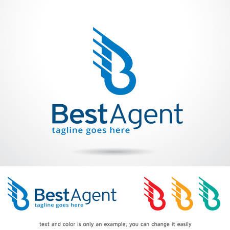 Letter B Template Design