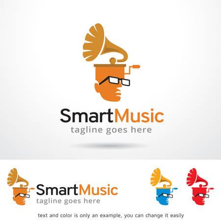 Musique intelligente Template Design Banque d'images - 66331515