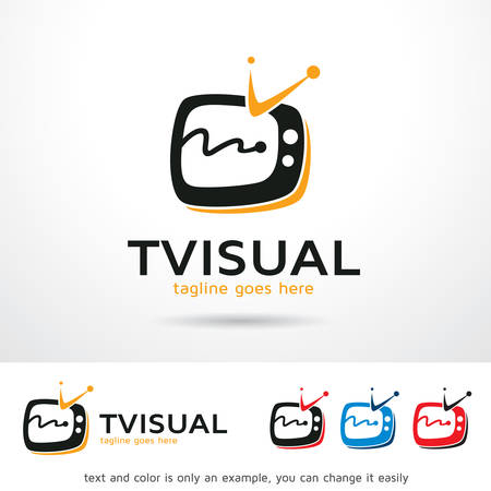 visual: TV Visual Template Design