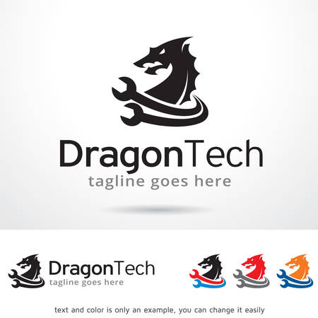 Dragon Tech Template Design