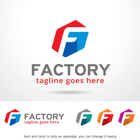 F Letter Logo Template Design Vector
