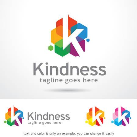 K Letter Logo Template Design Vector