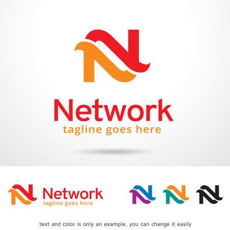 Letter N Logo Template Design Vector