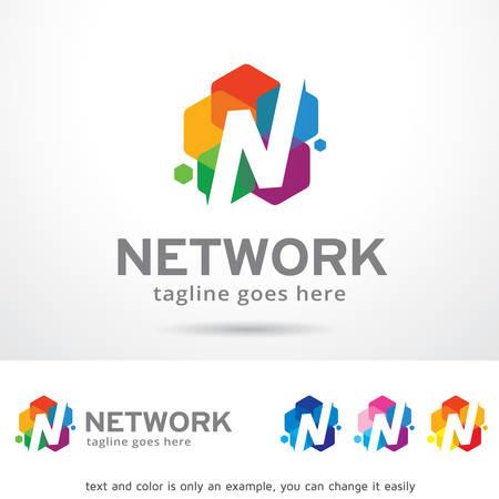 N Letter Logo Template Design Vector