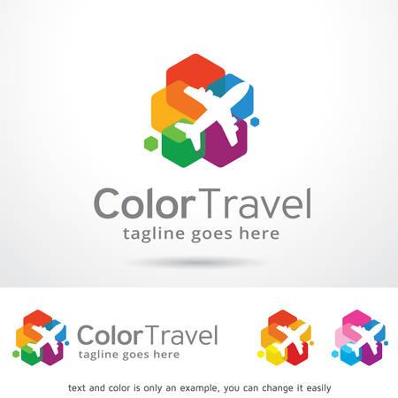 Reis Logo Sjabloon Ontwerp Vector