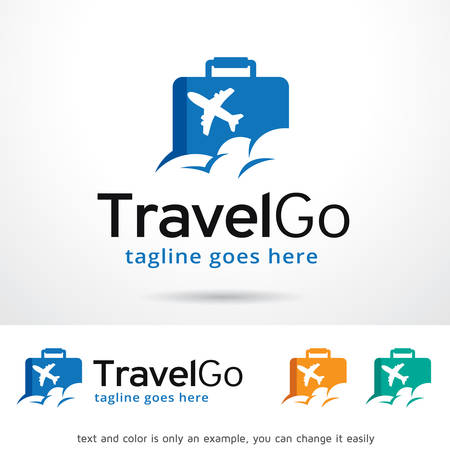 Travel Go Logo Template Design Vector