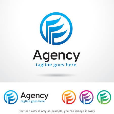 Agency Logo Template Design Vector Vectores