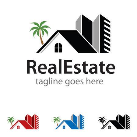residence: Real Estate Residence Logo Template Design Vector