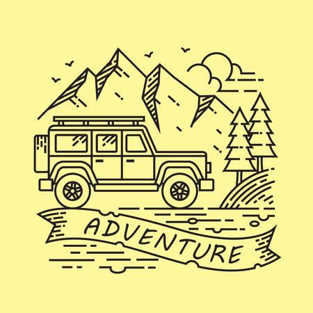 Adventure Illustration Vector