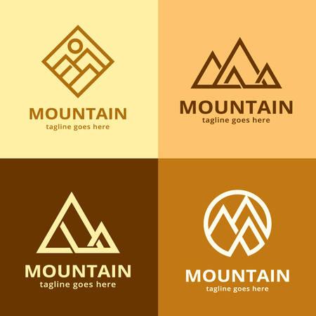 Mountain Logo Template Design Vector