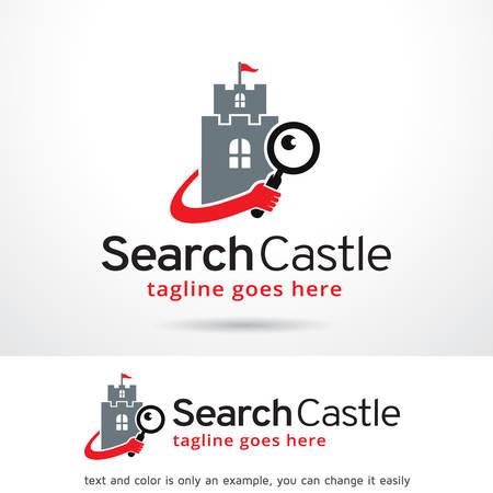 royal person: Search Logo Template Design Vector