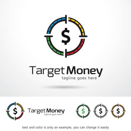 Target Money  Template Design Ilustrace