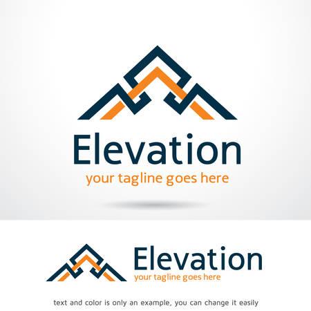 Abstract Elevation Logo Template Design Vector, Emblem, Design Concept, Creative Symbol, Icon