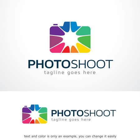 Photo Shoot Logo Template Design Vector, Emblem, Design Concept, Creative Symbol, Icon Illustration