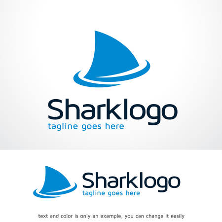 Shark Logo Template Design Vector, Emblem, Design Concept, Creative Symbol, Icon