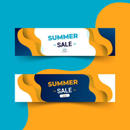 banner design of summer sale