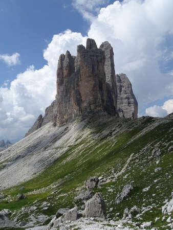 three peaks of Lavaredo Stock Photo