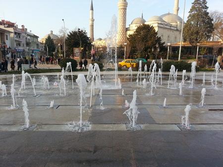 edirne: Selimiye Mosque in Edirne Editorial