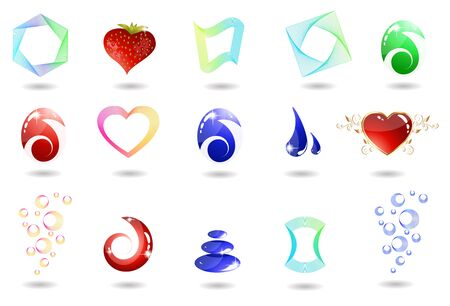 Icon set Stock Vector - 8976713