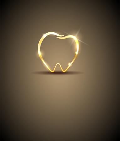 muela: Ilustraci�n diente dental de Lujo Hermosa