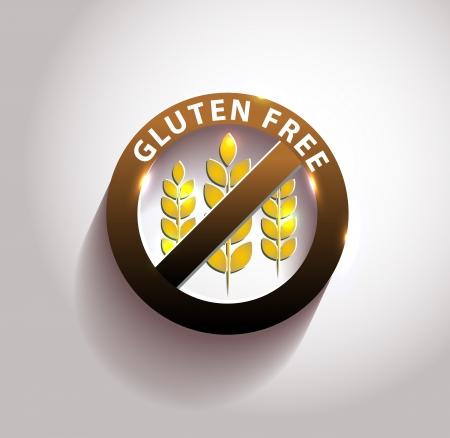 sprue: Beautiful gluten free symbol with light shades.