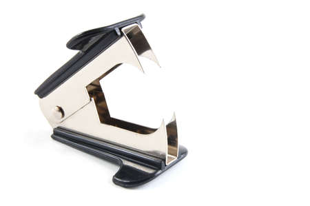 chomp: Staple remover isolated on a white background.