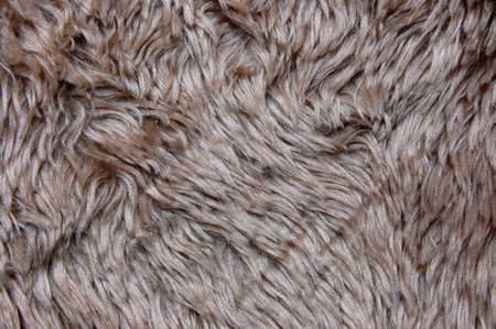 cuddly: brown cuddly fur textile texture which can be used as background