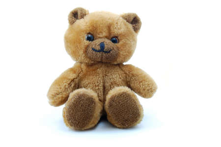 toy teddy bear isolated on white background Stock Photo - 3971567