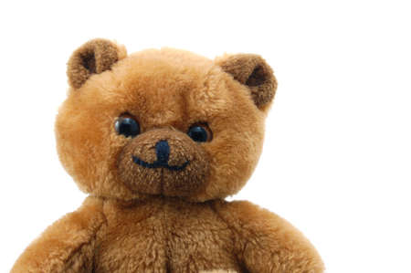 toy teddy bear isolated on white background Stock Photo - 4002966