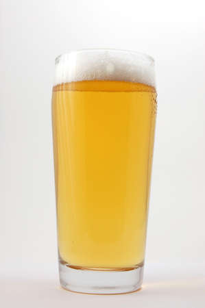 glass of beer isolated on white background Stock Photo - 4032655