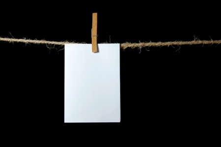 blank sheet of paper on a background photo