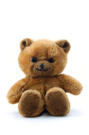 toy teddy bear isolated on white background Stock Photo - 4086560