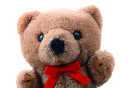toy teddy bear isolated on white background Stock Photo - 4180307