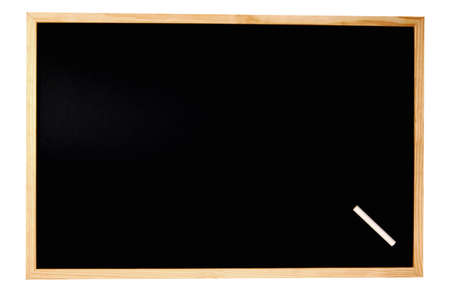 notification: empty chalkboard with space for a text message