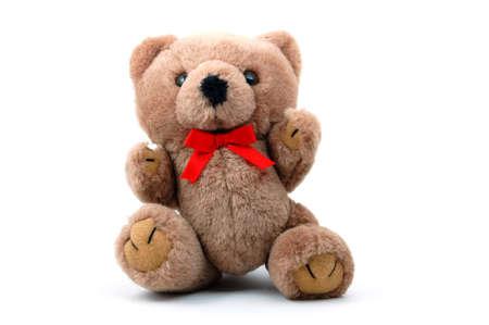 toy teddy bear isolated on white background Stock Photo - 4186614