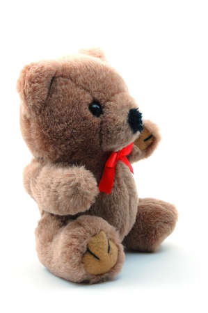 toy teddy bear isolated on white background Stock Photo - 4260939