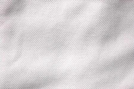 tela blanca: textil textura se puede utilizar como fondo o textura Foto de archivo
