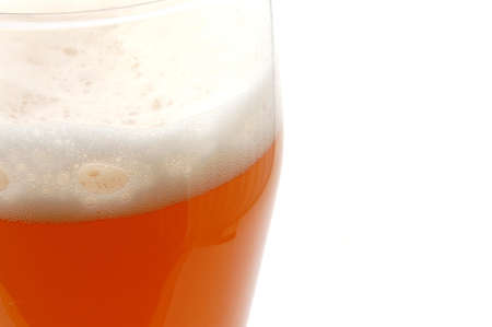 glass of german beer  with foam foam and bubbles Stock Photo - 4273659