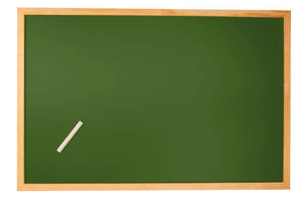 blank chalkboard with space for a text message Stock Photo