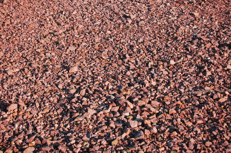 filthy: texture of gravel can be used as background Stock Photo