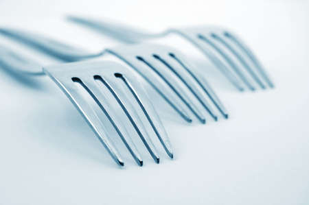 abstract fork background as a food concept photo