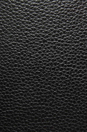 black leather texture can be used as background Archivio Fotografico