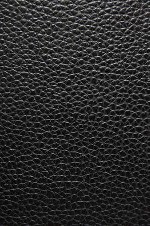 forniture: textura de cuero negro se puede utilizar como fondo Foto de archivo