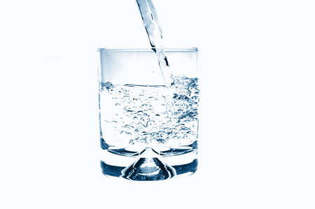 glass of water for refreshment in summer or at a party Stock Photo - 4735857