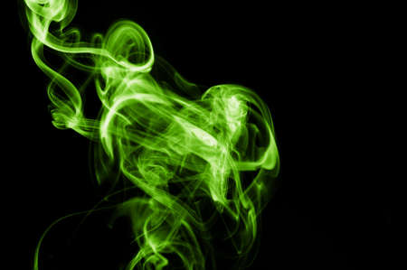 fag: abstract smoke background with colorful smoke on black