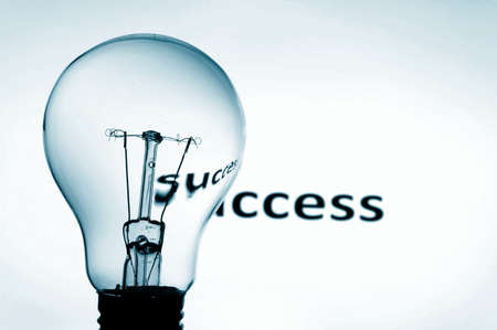bulb showing concept of business problems and success Stock Photo - 4927395