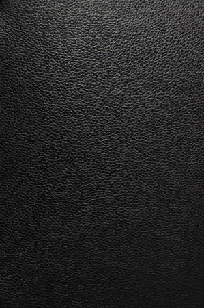black leather texture can be used as background Stock Photo
