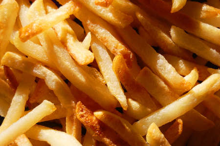 french fries texture can be used as background Stock Photo - 5000683