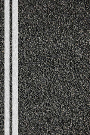 weg straat of asfalt textuur met lijnen Stockfoto
