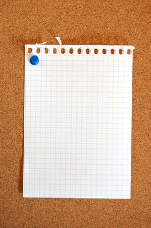 blank and empty sheet of paper with copyspace for text message photo